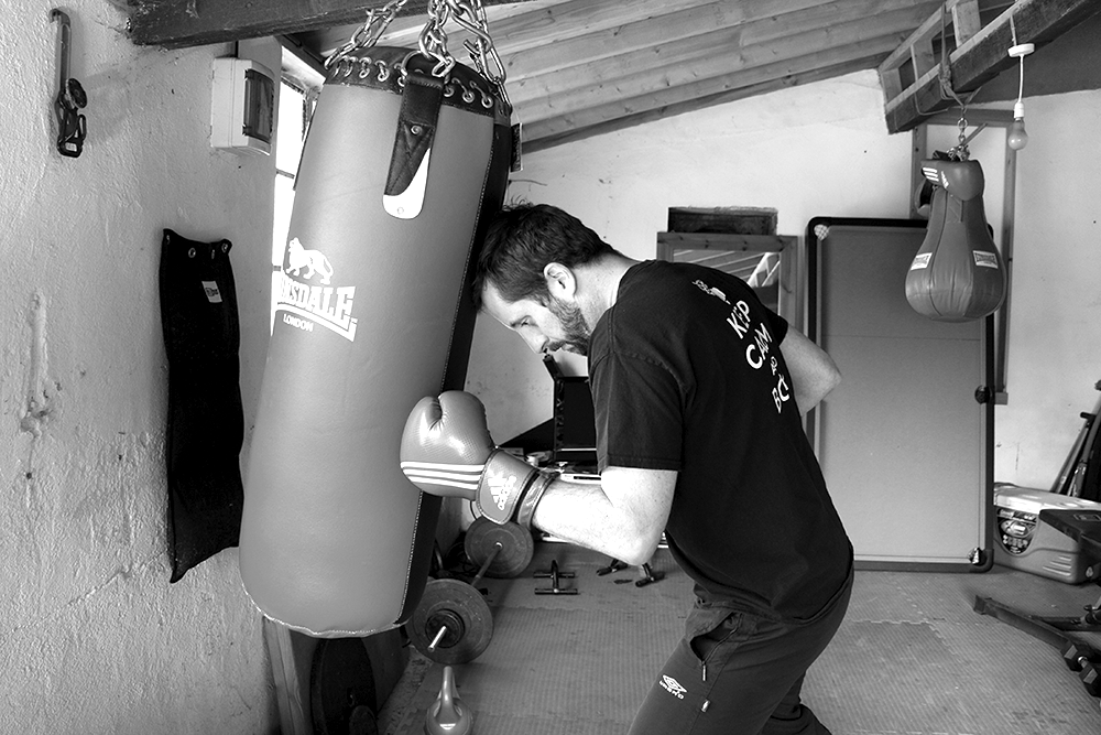 punch bag training