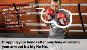 Lowering Your Boxing Guard